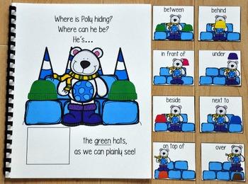 Polar Bear Adapted Book:  Where is Polly Hiding?