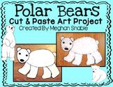Polar Bear Art Project- Cut & Paste