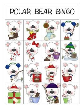 Polar Bear BINGO