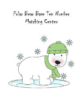 Polar Bear Base Ten Number Matching Center