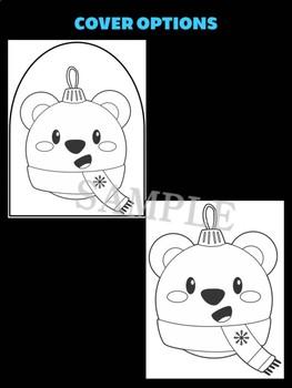 Polar Bear Christmas Ornament - Jackies Crafts, Winter Activities, Holiday Write