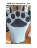 Polar Bear Paw Science Craft