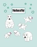 Polar Bear Clip Art  [Free]