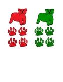 Polar Bear Color Matching and Sorting Activity