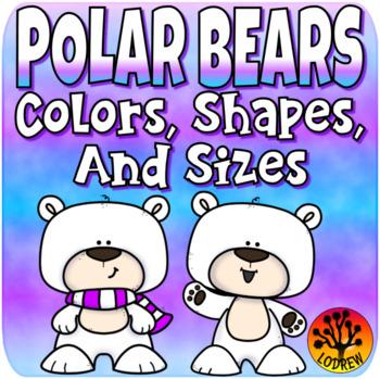 Winter Activities Polar Bear Centers Winter Centers Color Match Sorting