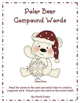 Polar Bear Compound Words