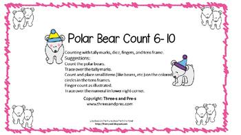 Polar Bear Count 6-10