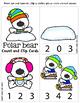 Polar Bear Count and Clip cards {48HR FLASH FREEBIE}
