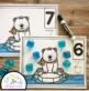 Polar Bear Counting Mats 1 - 20