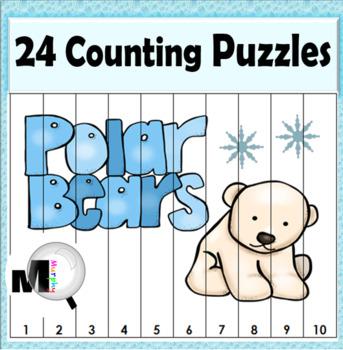 Number Puzzles - Polar Bear Math