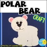 Polar Bear Craft for Winter & January