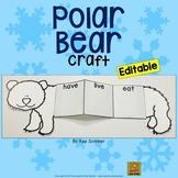 Polar Bear Craft *EDITABLE*