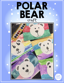 Polar Bear Craft | FREE