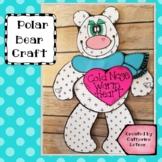 Polar Bear Craft, Winter Craft, January Craft