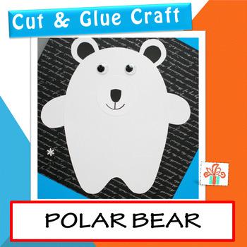 Polar Bear Craft - Winter Craft