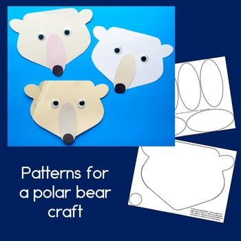 Polar Bear Craftivity and Non-Fiction Guided Reading Book