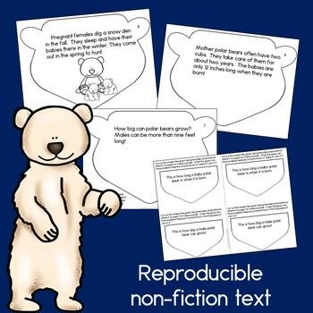 Polar Bear Craft and Book