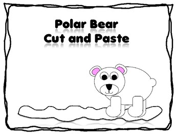 Polar Bear Cut andd Paste