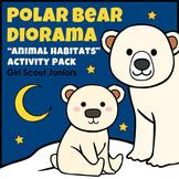 """Polar Bear Diorama - Girl Scout Juniors - """"Animal Habitats"""