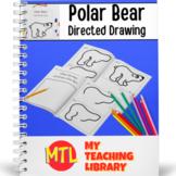 Polar Bear Directed Drawing Lesson