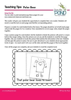 Polar Bear Emergent Reader