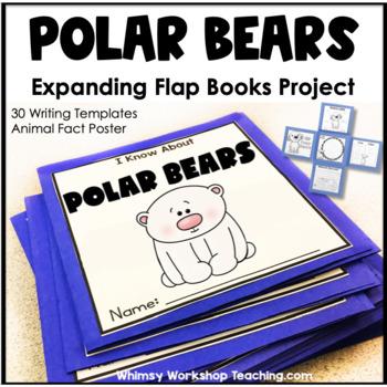 Polar Bear Expanding Flap Book