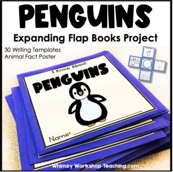 PENGUINS Expanding Flap Book