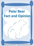 Polar Bear Fact and Opinion Cards