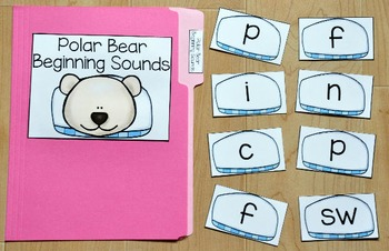 Polar Bear File Folder Games