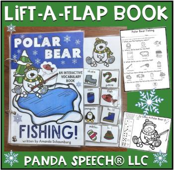 Polar Bear Fishing! An interactive & adaptive book