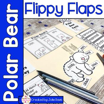 Polar Bear Activities Interactive Notebook Lapbook