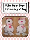 Polar Bear Glyph Craftivity with Summary Writing Activity