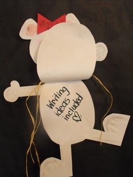 Polar Bear Glyph with Writing Options