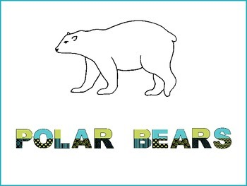 Polar Bear Graphic Organizers