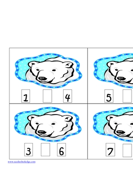 Polar Bear Greater Than Less Than