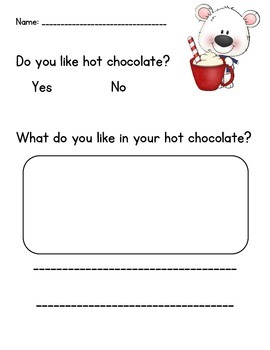 Polar Bear Hot Chocolate Sight Word Reader: Have - CCSS Aligned