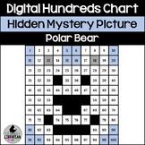 Polar Bear Hundreds Chart Hidden Picture Activity for Winter Math Polar Animals