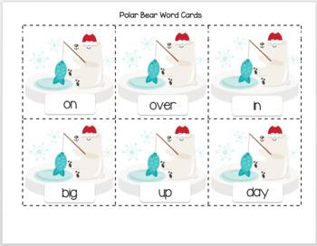 Polar Bear Ice Fishing - Fishing for Antonyms