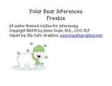 Polar Bear Inferences Freebie