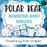 Polar Bear Information Report Writing Activity