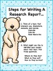 Polar Bear Informational Writing and Research Unit