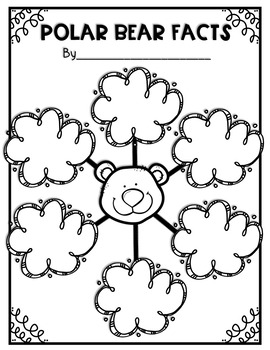 Polar Bear Informative Writing- DIGITAL Version