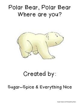 Polar Bear Interactive/Emergent Reader Positional Words