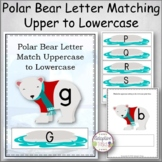 Polar Bear Letter Match Uppercase to Lowercase