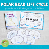 Polar Bear Life Cycle Activity Set: Preschool/ Kindergarten