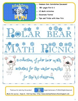 Polar Bear Math Picnic