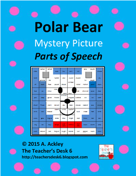 Polar Bear Mystery Picture Verb Tenses