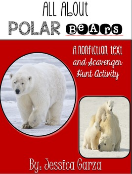 Polar Bear Non Fiction Unit AND Scavenger Hunt
