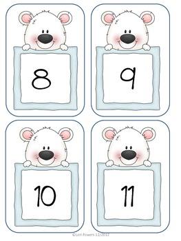 Polar Bear Number Matching