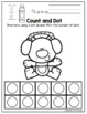 "Polar Bear Number Worksheets 1-10 ""No Prep"""